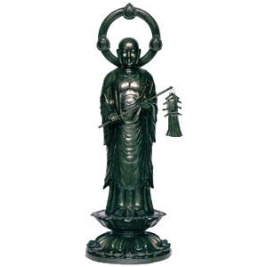 法印地蔵菩薩像