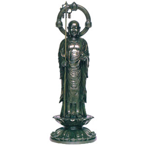 鶏亀地蔵菩薩像