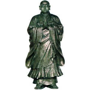日蓮聖人 合唱のお姿