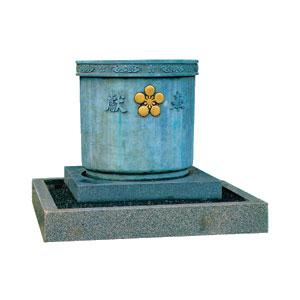 寸胴型天水鉢(関野型)