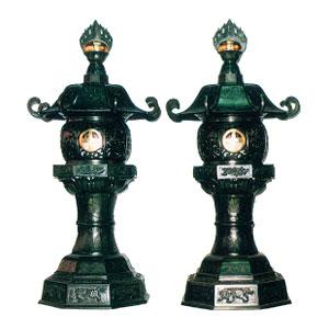 丸型燈籠(火袋丸型)